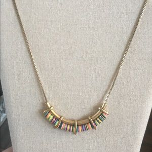 Stella and Dot Gold Wanderer Necklace